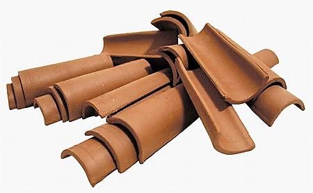 Dachziegel aus Ton