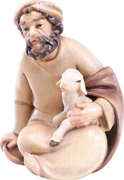 Hirt sitzend mit Schaf Nr. 4523